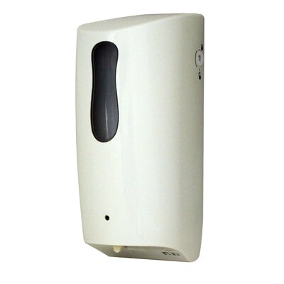 Showerhaus Hands-Free Soap / Lotion / Sanitizer Dispenser Finish: White