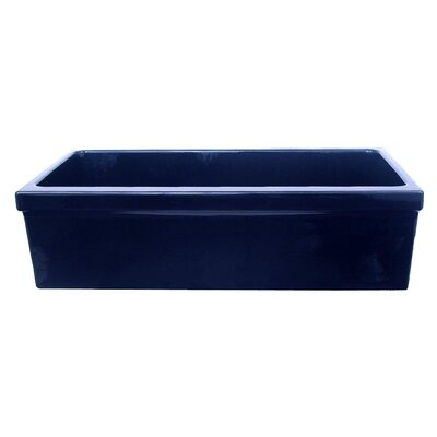 FarmhausQuatro 30 x 20 Single Bowl Farmhouse Kitchen Sink Finish: Sapphire Blue