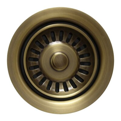 Waste Disposer Trim Finish: Antique Brass