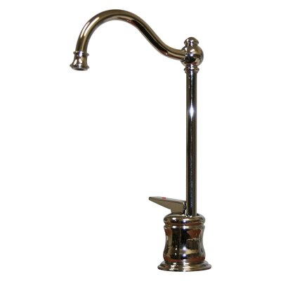 Forever Hot One Handle Single Hole Kitchen Faucet Finish: Polished Chrome