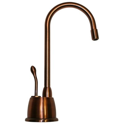 Forever Hot 6.875 One Handle Single Hole Instant Hot Water Dispenser Faucet Finish: Antique Copper