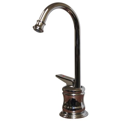 Forever Hot 5.25 One Handle Single Hole Hot Water Dispenser Faucet with Gooseneck Spout Finish: Polished Chrome
