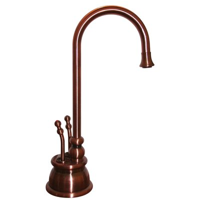 Forever Hot 8 Two Handle Single Hole Instant Hot and Cold Water Dispenser Faucet Finish: Antique Copper