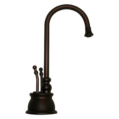 Forever Hot 8 Two Handle Single Hole Instant Hot and Cold Water Dispenser Faucet Finish: Mahogany Bronze