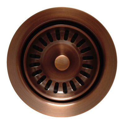 Waste Disposer Trim for Deep Fireclay Sinks Finish: Antique Copper