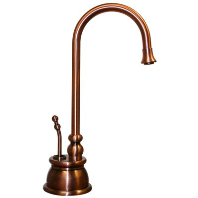 Forever Hot Single Handle Instant Hot Water Dispenser Faucet with Gooseneck Spout Finish: Antique Copper