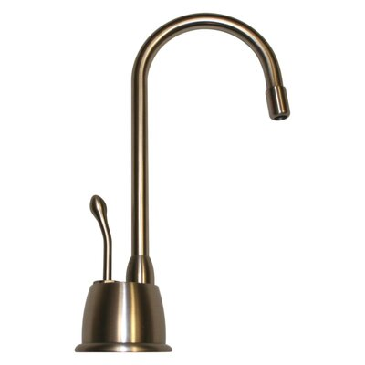 Forever Hot 6.875 One Handle Single Hole Instant Hot Water Dispenser Faucet Finish: Brushed Nickel