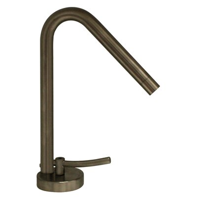 Metrohaus Single Hole Bathroom Faucet Wih Single Handle Finish: Brushed Nickel