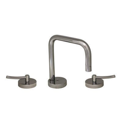 Metrohaus Widespread Bathroom Faucet with Double Handles Finish: Polished Chrome