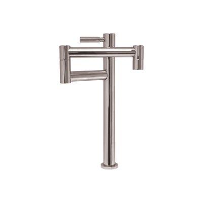 Decohaus Deck Mount One Handle Single Hole Deck Mount Pot Filler Faucet Finish: Polished Chrome