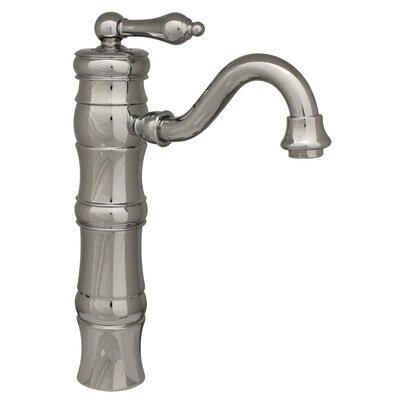 Vintage III Single Hole Elevated Bathroom Faucet with Single Handle Finish: Polished Chrome