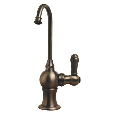 Forever Hot 7 One Handle Single Hole Instant Hot Water Dispenser Faucet with Gooseneck Spout Finish: Pewter