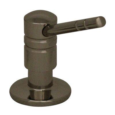 Solid Brass 3.25 Soap Dispenser Finish: Polished Nickel