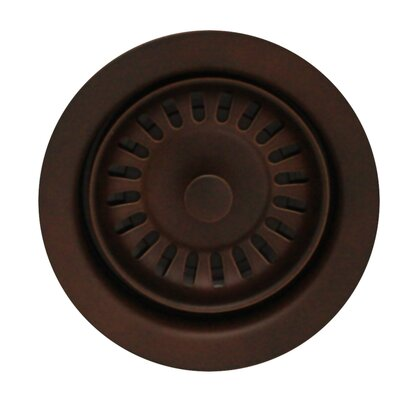 Grid Kitchen Sink Drain Finish: Mahogany Bronze