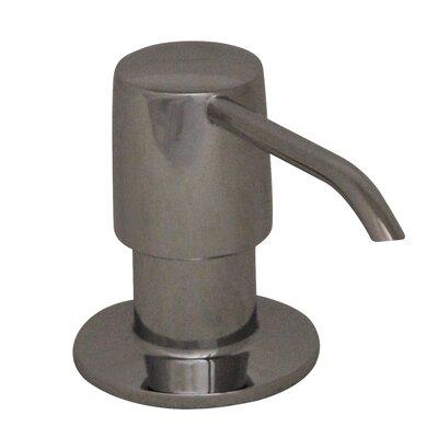 Solid Brass 2 Soap Dispenser Finish: Polished Chrome
