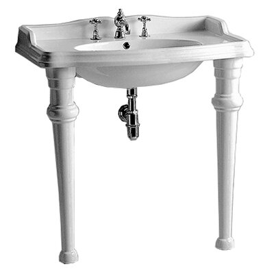 China 22 Console Bathroom Sink Size: 35.375 L