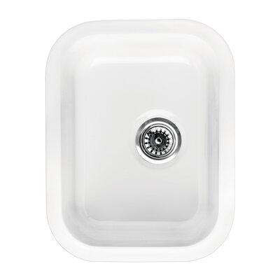Elementhaus 18.25 x 14 Rectangle Drop-In/Undermount Kitchen Sink