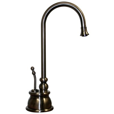 Forever Hot Single Handle Instant Hot Water Dispenser Faucet with Gooseneck Spout Finish: Pewter