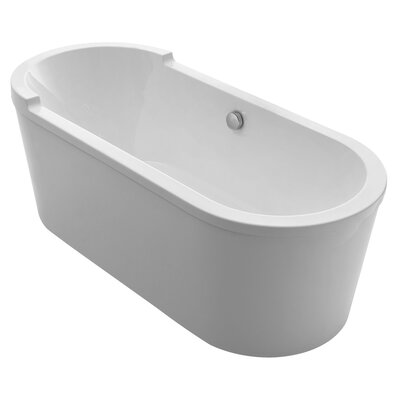 Bathhaus 70.88 x 31.5 Freestanding Bathtub