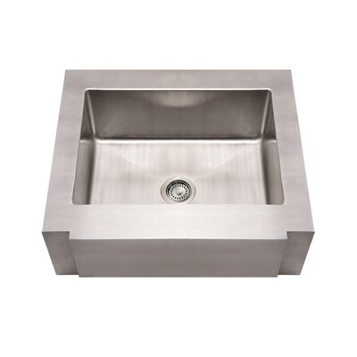 Noahs 30 x 26.25 Commercial Single Bowl Farmhouse Undermount Kitchen Sink