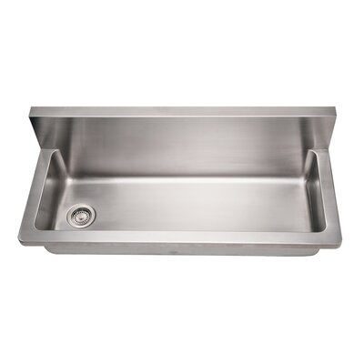Noah 44 x 13.25 Single Commercial Utility Sink