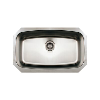 Noah 29.5 x 17.5 Single Bowl Undermount Kitchen Sink