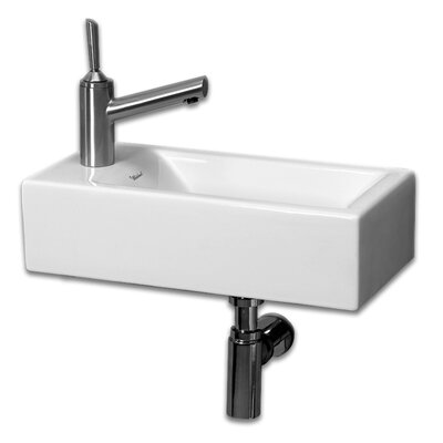 Isabella Vitreous China 20 Wall Mount Bathroom Sink