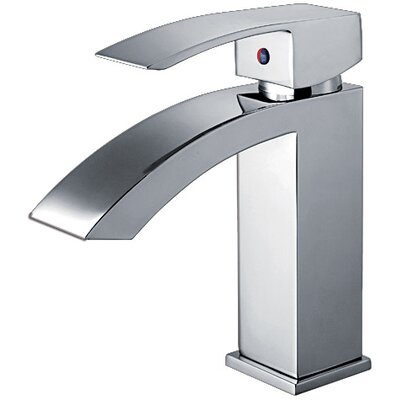 Jem Single Handle Bathroom Faucet with Pop-Up Waste Finish: Polished Chrome