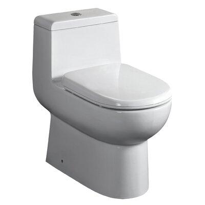 Magicflush Dual Flush Elongated One-Piece Toilet