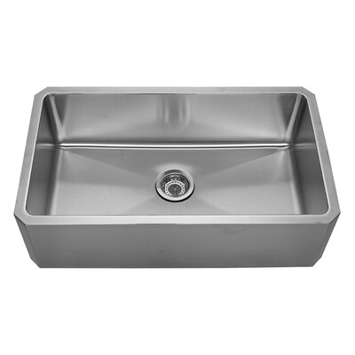 Noahs 31.63 x 18.13 Front - Apron Single Bowl Undermount Kitchen Sink