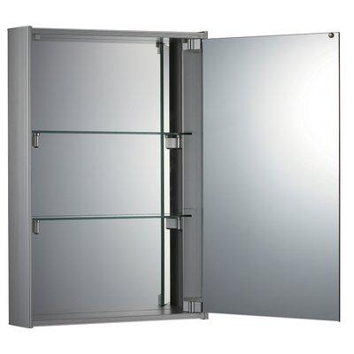 15.75 x 23.63 Surface Mount Medicine Cabinet