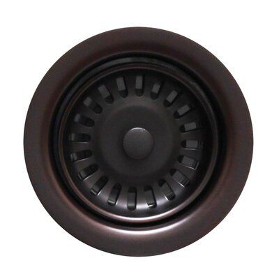 Grid Kitchen Sink Drain Finish: Oil Rubbed Bronze