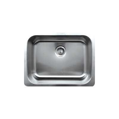 Noahs 25 x 19 Single Bowl Undermount Kitchen Sink
