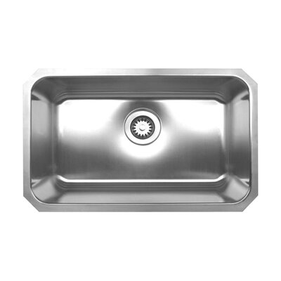 Noah 30.25 x 18.25 Single Bowl Undermount Kitchen Sink