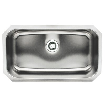Noah 30.5 x 18.25 Single Bowl Undermount Kitchen Sink