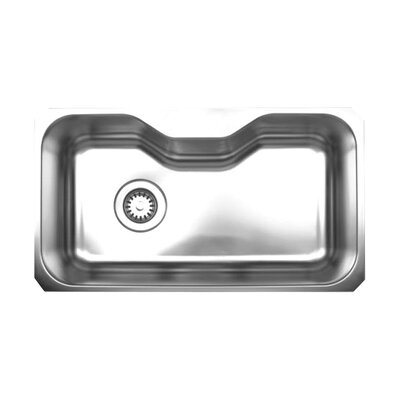 Noahs 32.13 x 18.38 Chefhaus Single Bowl Undermount Kitchen Sink