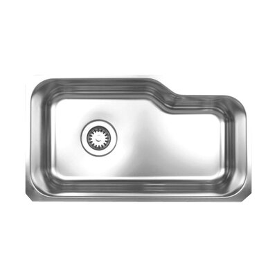Noah 32.13 x 18.38 Single Bowl Undermount Kitchen Sink