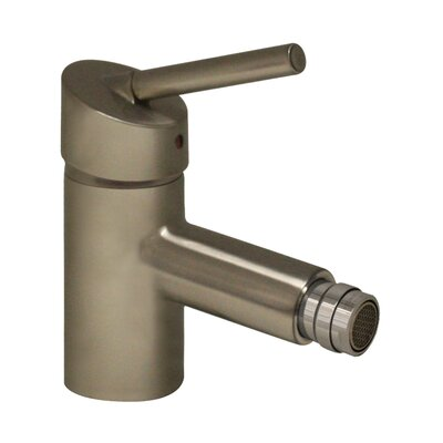 Centurion Single Handle Horizontal Spray Bidet Faucet Finish: Brushed Nickel