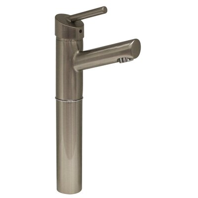 Centurion Single Hole Elevated Bathroom Faucet with Single Handle Finish: Brushed Nickel