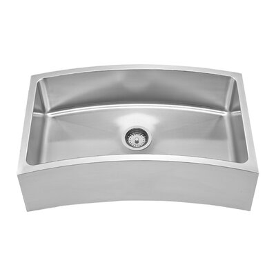 Noahs 31.63 x 18.13 Chefhaus Single Bowl Front Apron Undermount Kitchen Sink
