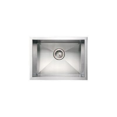 Noahs 20 x 15 Commercial Single Bowl Undermount Kitchen Sink