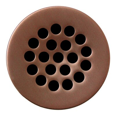 1.5 Grid Shower Drain Finish: Antique Copper