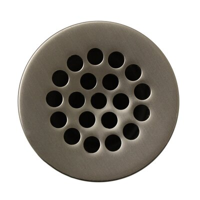 1.5 Grid Shower Drain Finish: Brushed Nickel