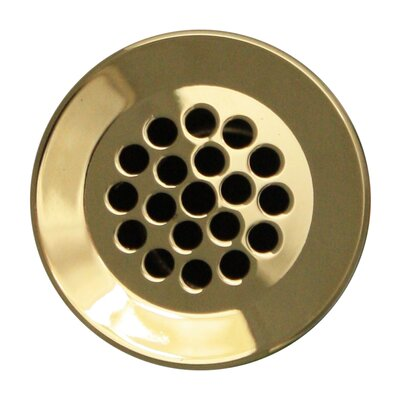 1.5 Grid Shower Drain Finish: Polished Brass