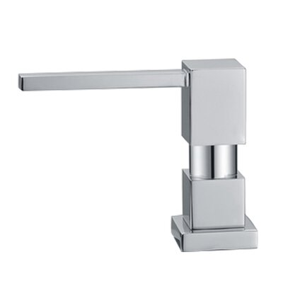 Solid Brass Square Soap Dispenser Finish: Brushed Nickel