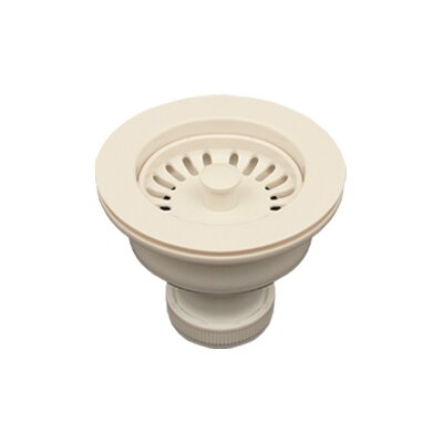 Basket Strainer for Deep Fireclay Application Finish: Biscuit