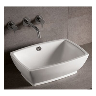 Isabella Single Bowl Rectangular Vessel Bathroom Sink