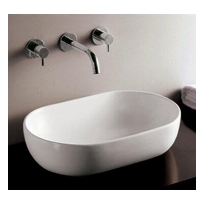 Isabella Ceramic Oval Vessel Bathroom Sink