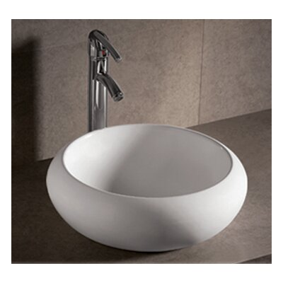 Isabella Ceramic Circular Vessel Bathroom Sink