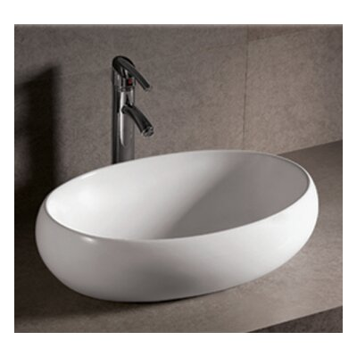 Isabella Ceramic Oval Vessel Bathroom Sink